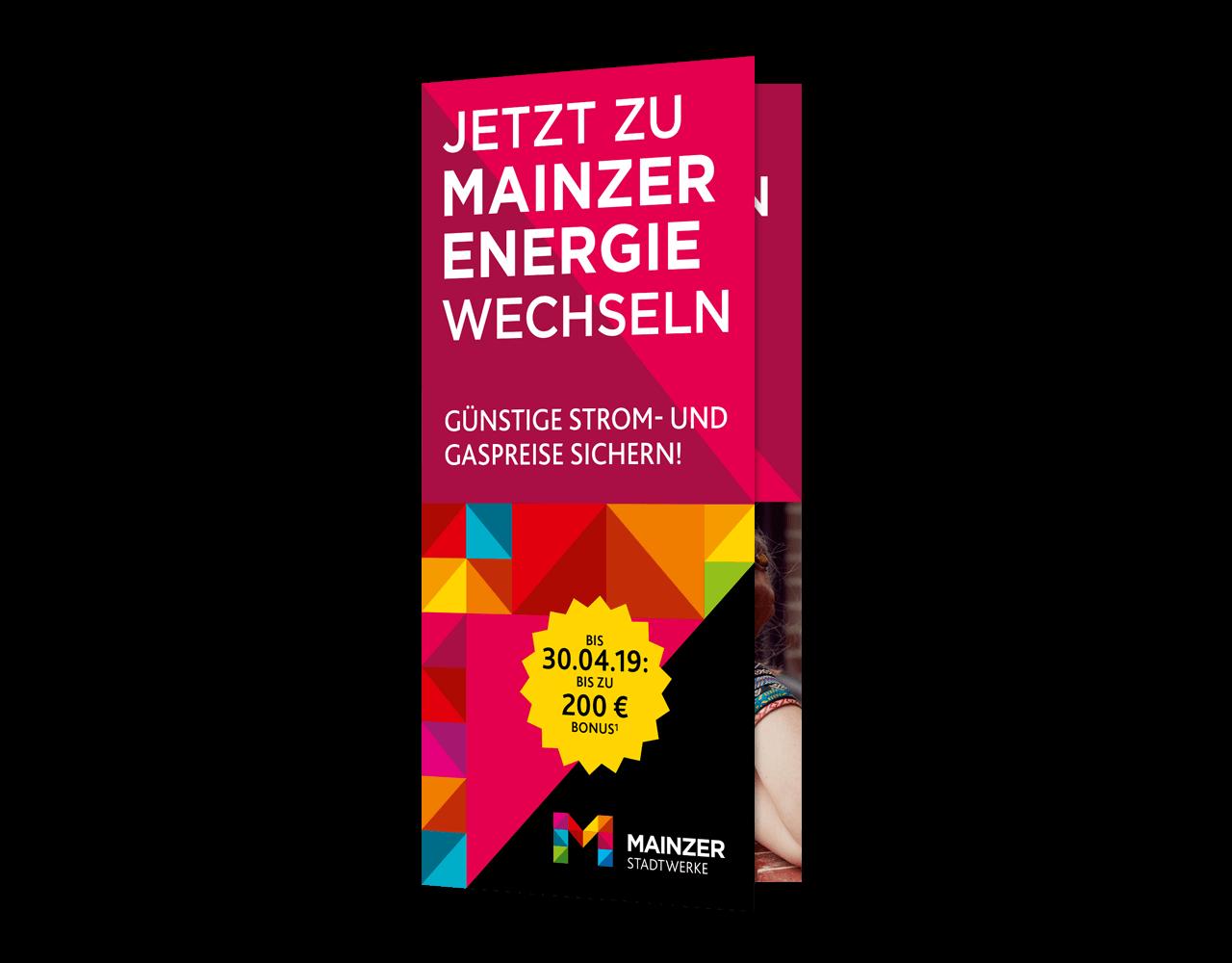Klare Markenbotschaft der Mainzer Energie