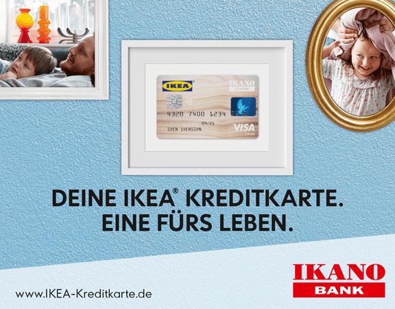 IKEA Kreditkarte Kampagne Mailings E-Mailings